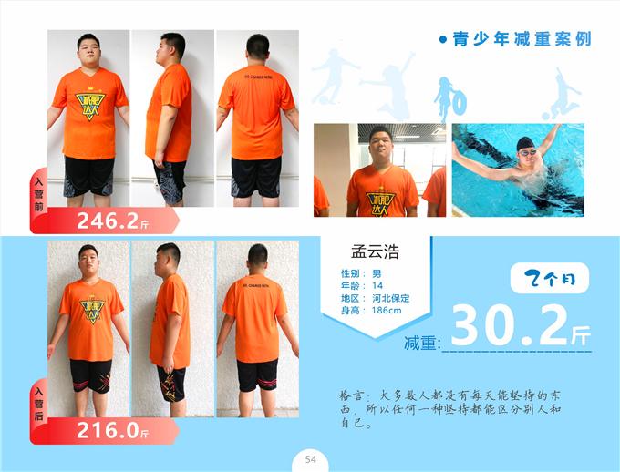 孟云浩魔鬼减肥30.2斤!!!